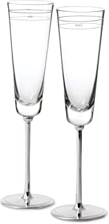 Best kate spade mr and mrs champagne flutes Reviews