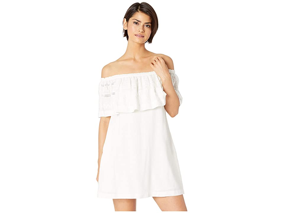L*Space Abby Dress Cover-Up (White) Women