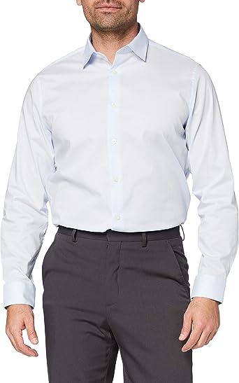 Marca Amazon - find. Camisa Formal de Corte Estándar Hombre
