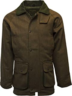 Walker & Hawkes - Mens Derby Tweed Shooting Hunting Country Jacket - Brown