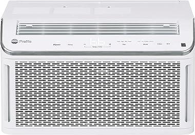 GE 2-in-1 Conditioner & Dehumidifier Energy Star 8,100 BTU Smart Ultra Quiet Window Air Conditioner for Medium Rooms up t