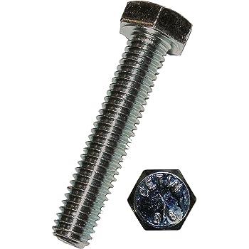 M 8 x 80 mm Dresselhaus hexagonales 8,8 con rosca a la cabeza EN ISO 4017 DIN 933 50 pcs galvanizados