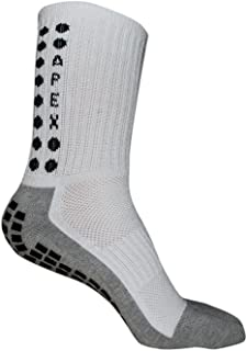 Apex #1 Non Slip Sport Socks, The Best Traction Technology Inside and Outside of Socks, No More Blisters, Grip Socks