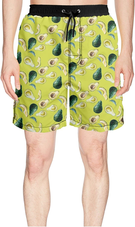 d4677f354 Juliuse Marthar Men's Avocado Avocado Avocado Beautiful Nice Swim ...