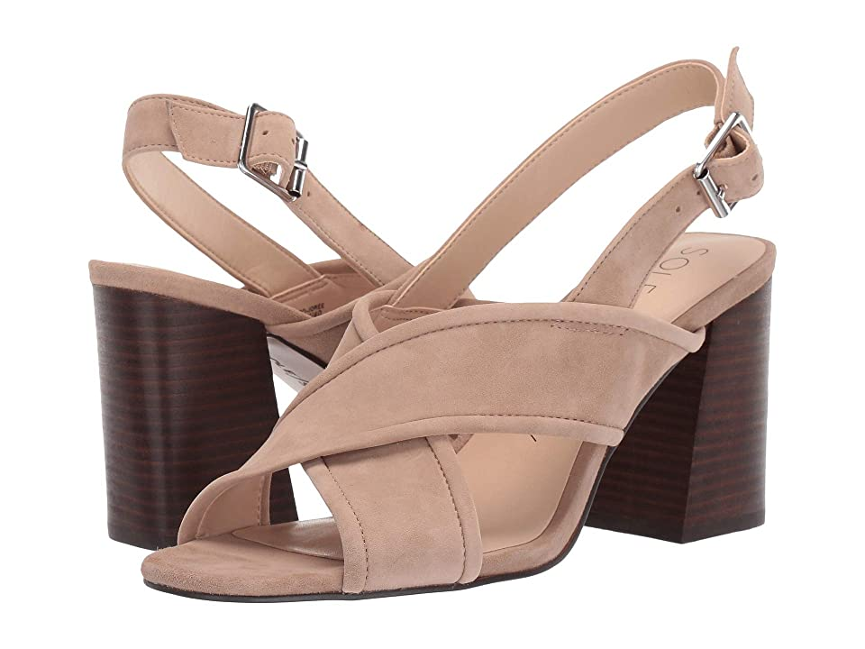 SOLE / SOCIETY Joree (Dusted Taupe Kid Suede) Women
