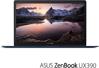 ASUS ZenBook 3 UX390UA 12.5in Laptop Intel Core i7-7500U 16GB RAM 512GB SATA SSD with Fingerprint Sensor, Royal Blue Windows 10 Pro (Renewed)