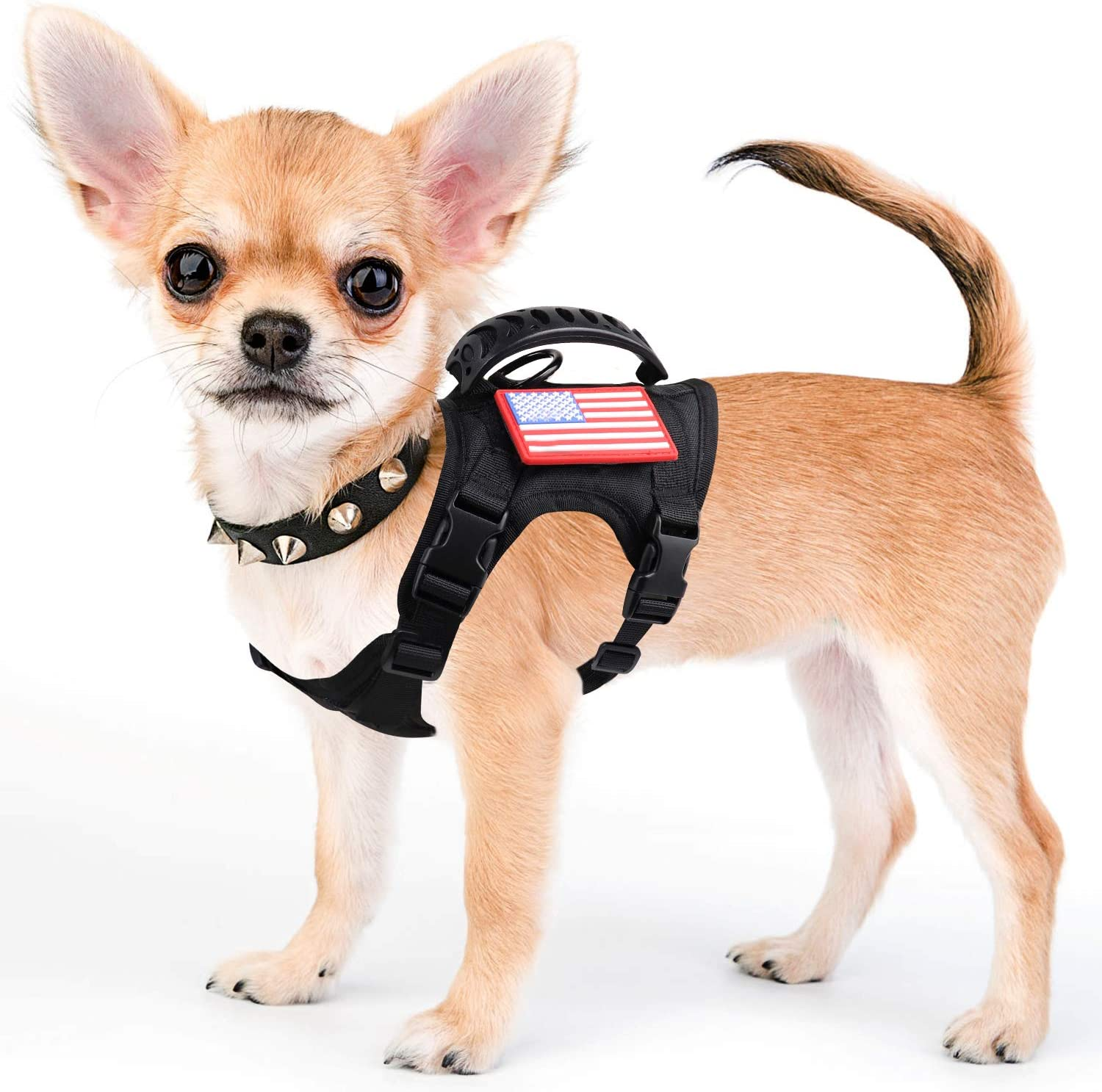 Ranking integrated 1st place Tactical Service Dog Harness Vest Ranking TOP19 Military K9 Working Adjustable