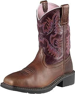 Women's Krista Pull-on Steel Toe Western Cowboy Boot