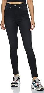Amazon Brand - Symbol Women's Skinny Fit Jeans (SS20/SY/DNM-ART002_Black_30)