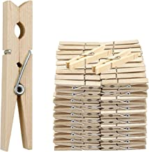 36 x WOODEN CLOTHES PEGS CLIPS PINE WASHING LINE AIRER DRY LINE WOOD PEG GARDENS