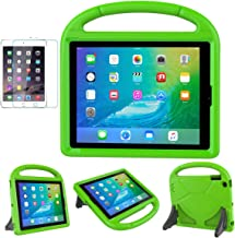 iPad 2/3/4(Old Model) Case for Kids - SUPLIK Durable Shockproof Protective Handle Bumper Stand Cover with Screen Protector for Apple iPad 2nd,3rd,4th Generation, Green
