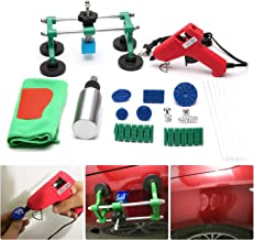 Auto Body Paintless Dent Repair Tool Kit,Car Bridge Dent Puller,Glue Puller Tabs for Car, Glue Shovel for Auto Dent Removal, Minor dents, Door Dings and Hail Damage
