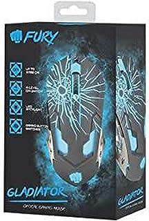 NATEC NFU-0870 Fury Gaming Optical Mouse GLADIATOR 3200 DPI illuminated