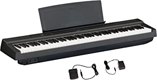 Yamaha P125 88-Key Weighted Action Digital Piano with Power