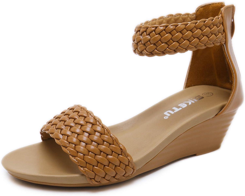 Summer Flat Gladiator Sandals for Women Comfortable Casual Beach shoes Platform Sandals
