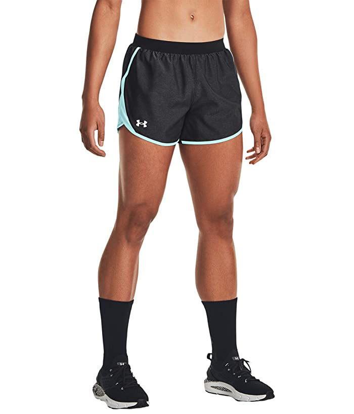 Fast-Drying Womens Yoga Shorts Under Armour Womens Fly by Short Womens Running Shorts with Moulded Hem and Elastic Waist