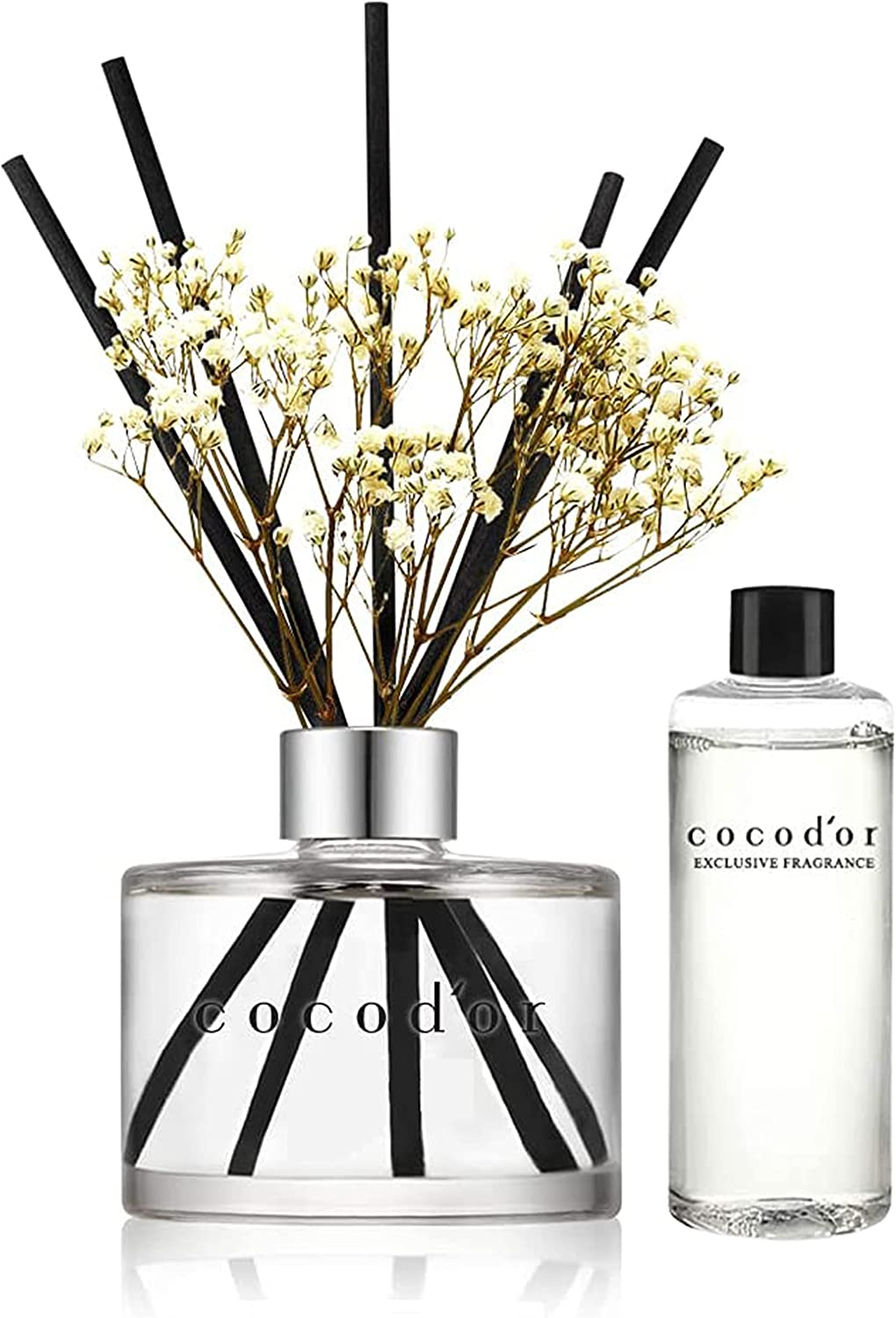 Cocodor Sales for sale Flower Reed Diffuser Overseas parallel import regular item Kit Freshener Fragrance with Air