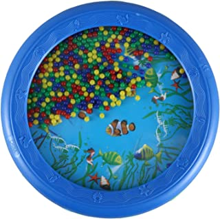CONGGE Ocean Wave Bead Drum Gentle Sea Sound Musical Educational Toy Tool for Baby Kid