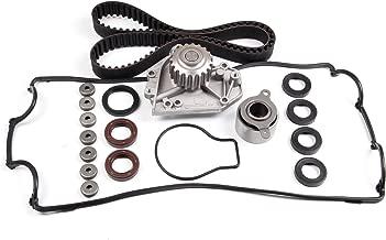 SCITOO Timing Belt Water Pump Valve Cover Gasket Kit fit Acura LS 1.8L 16V Non-VTEC