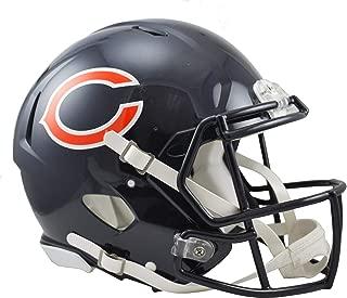 Riddell Chicago Bears Revolution Speed Full-Size Authentic Football Helmet - NFL Authentic Helmets