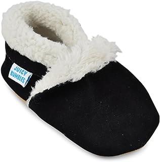 62353e0a1708c Juicy Bumbles - Chaussons Bébé - Chaussures Bébé - Pantoufles en Daim Premiers  Pas – Chaussons