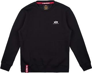 ALPHA INDUSTRIES Men's Basic Sweater Small Logo Sweatshirt