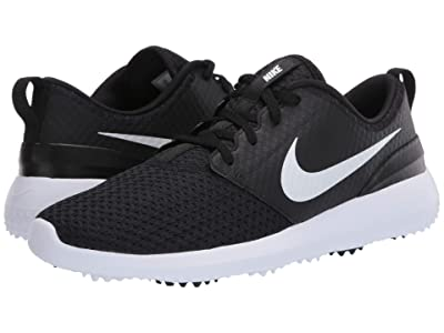 Nike Golf Roshe G (Black/Metallic White/White) Men