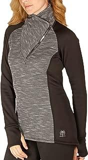 SnowAngel Melange Snuggle Zip T - Women's