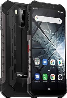 頑丈な携帯電話がロックされていた UlefoneアーマーX3防水ロック解除携帯電話 グローバル3 GデュアルSIM Android 9.0 2ギガバイト+ 32ギガバイト(暗がり)