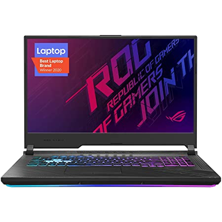 "ASUS ROG Strix G17 (2020) Gaming Laptop, 17.3"" 144Hz IPS Type FHD Display, NVIDIA GeForce RTX 2070 SUPER, Intel Core i7-10750H, 16GB DDR4, 512GB PCIe NVMe SSD, RGB Keyboard, Windows 10, G712LWS-WB74"