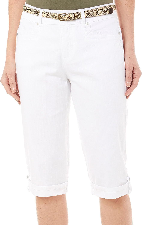 Gloria We OFFer Sale special price at cheap prices Vanderbilt Womens Marnie Vintage Stretch Denim White Skim