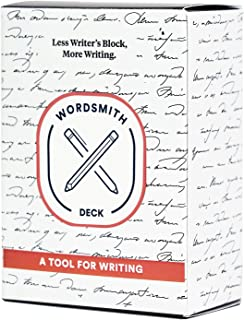 BestSelf Co. Wordsmith Deck - A Writing Prompt Deck to Stimulate Ideas and Cure Writers Block - Great for Creative Exercises and Self Help Journaling