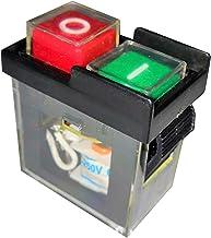 KJD6 5E4 - Taladro eléctrico (resistente al agua, AC250V), color negro