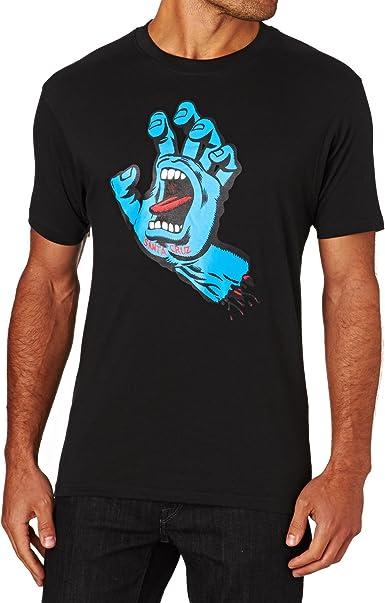 SANTA CRUZ – Camiseta para Hombre Gritando Mano