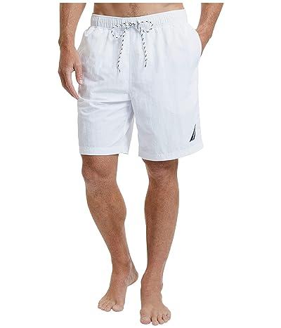 Nautica New Anchor Swim Trunk (Bright White) Men