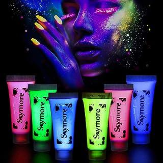 Skymore Peinture Corporelle, Peinture De Visage, 6PCS Bodypaints UV, Face  Painting, Avec