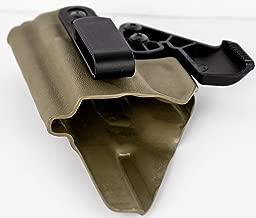 Head Down Kydex Glock 19 19X 23 32 45 Holster FDE (Tan) AIWB RCS Claw Appendix Carry