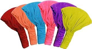 Wide Headbands – 6 Pack- Yoga Headbands - Cotton Hairbands - Sport Headbands By CoverYourHair
