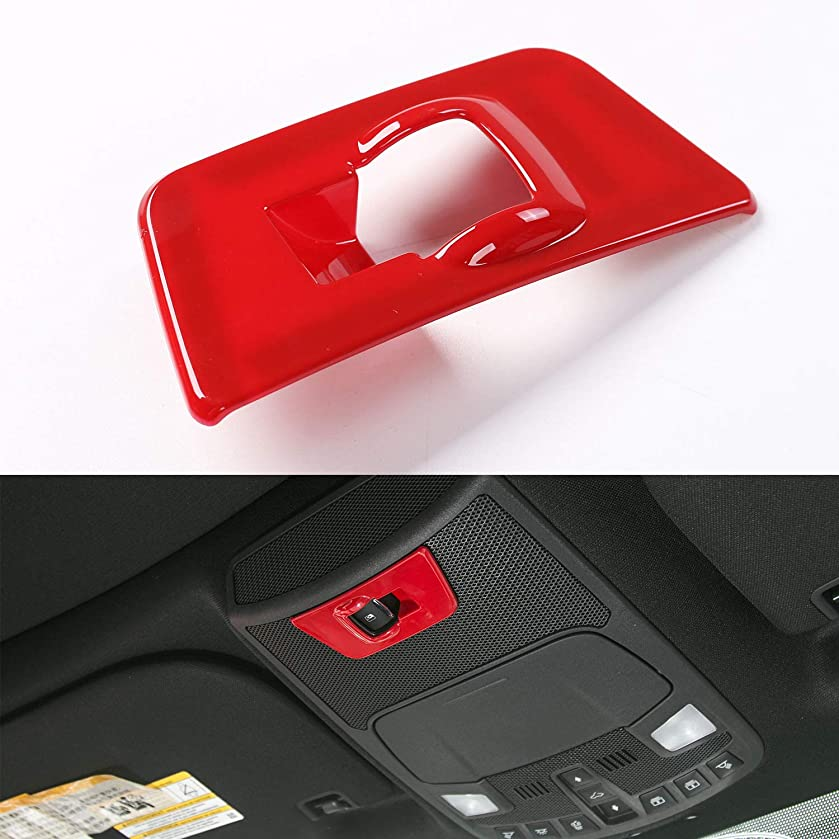 Voodonala Red Window Lift Panel Switch Covers Trim for Ford F150 2015 2016 2017