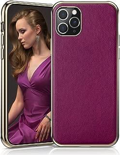 LOHASIC iPhone 11 Pro Case for Women, Slim Fit Premium PU Leather Elegant Luxury Cover Anti-Slip Soft Grip Flexible Full Body Protective Phone Cases for Apple iPhone 11 Pro(2019) 5.8