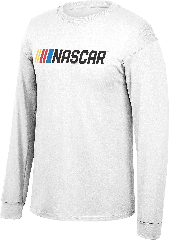 Fashionable Elite Fan Max 40% OFF Shop NASCAR Men's Long Favorite Core White Script