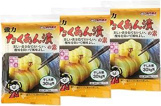 ニチノウ食品 強力たくあん漬の素 ×3袋