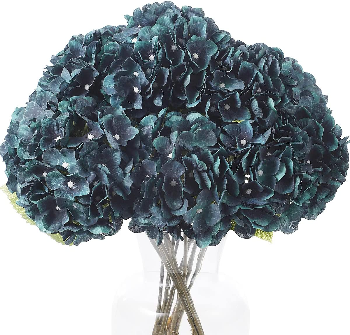 Kimura's Cabin Blue Silk Flower Cheap mail order shopping Flowers Artificial Hydrangea Spring new work one after another Flo