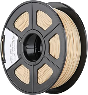 REFURBISHHOUSE 1.75mm/3mm Color de Madera Filamento de Impresora 3D - 1kg Carrete (2.2 lbs) - Exactitud Dimensional +/- 0.03 mm para Impresion RepRap MarkerBot Pluma de Impresion (1,75 mm)