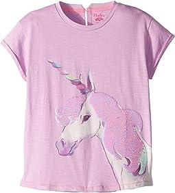 Flip Sequin Unicorn Graphic Tee (Toddler/Little Kids/Big Kids)