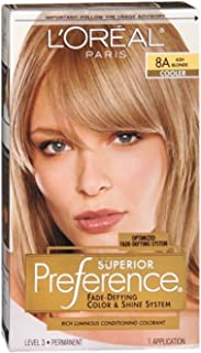 L'Oreal Superior Preference - 8A Ash Blonde (Cooler) 1 Each (Pack of 6)