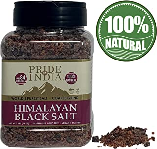 El orgullo de la India - Himalaya Negro Rock Salt - Grueso