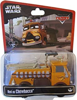 Disney Star Wars Pixar Cars Series 2 Red the Fire Engine as Chewbacca 1/55 Die-Cast - Theme Park Exclusive Limited Edition by Disney
