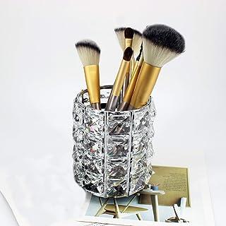 Make-upkwast Cosmetische Opbergdoos, Wenkbrauwpenorganisator, Kristallen Make-upborstelhouder, Gebruikt in Oogschaduw en C...