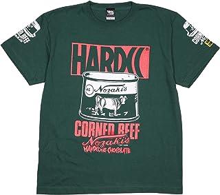 (ハードコアチョコレート) HARDCORE CHOCOLATE ノザキのコンビーフ (ミート・アイビーグリーン)(SS:TEE)(T-1456-GE) Tシャツ 半袖 カットソー 国産コンビーフ第1号 国内正規品